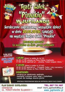 Plac zabaw dla dzieci JUPILANDIA Teatr Lalek Pinokio