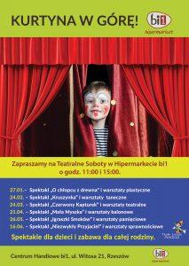 Hipermarket BI Rzeszów Teatr lalek Pinokio